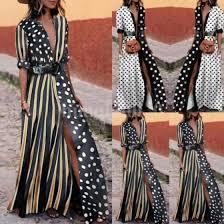 Shop <b>USA Women Summer Boho</b> Long Maxi Dress Cocktail Party ...