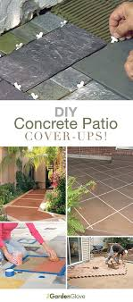 stain diy patio project