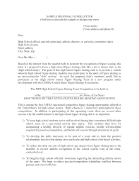 example of business cover letter proposal