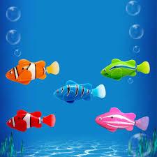 <b>Mini Bionic</b> Fishing <b>Toy</b> Electric Swimming Magical Le Bao Fish ...