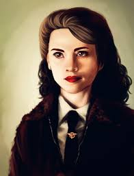 Peggy Carter Speedpaint by Dora11740 - peggy_carter_speedpaint_by_dora11740-d58q1wn