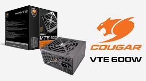 Обзор и тест <b>блока питания Cougar</b> VTE 600W — i2HARD