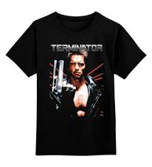 """<b>Детские футболки</b> c особенными принтами """"terminator"""" - <b>Printio</b>"""