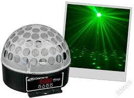 Автоматический прожектор LED <b>crystal</b> magic ball, 3RGB ...