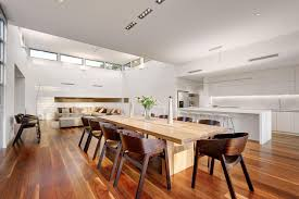 White Chairs For Living Room Best Design Kitchen Dining Living Room With Pendant Lamp Above