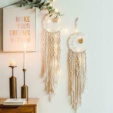 <b>Nordic Dream Catcher</b> Cotton Woven Bohemian Hanging Tapestry ...