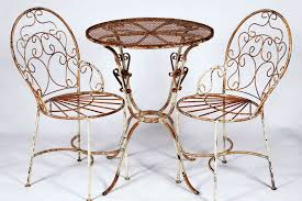 wrought iron ice cream chairs and table set metal patio furniture to last ebay wrought iron black wrought iron patio furniture