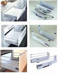 soft close drawers box: full extension soft close drawer slidebluware tandem box
