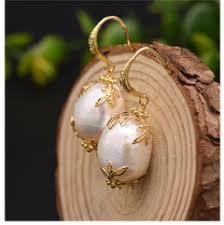<b>XlentAg</b> Really Flower <b>Natural</b> Fresh Water <b>Baroque Pearl</b> Ring ...