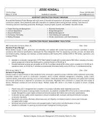 2016 construction project manager resume sample writing resume construction construction manager resume sample