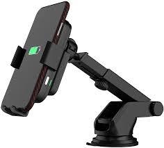 Купить Держатель <b>Lyambda</b> беспров.з/у. черный для смартфонов ...