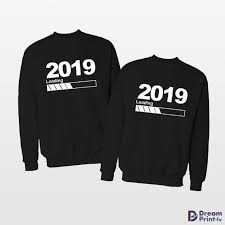 <b>2019</b> New year <b>matching couple</b> jumpers, Holiday <b>sweater</b> for New ...