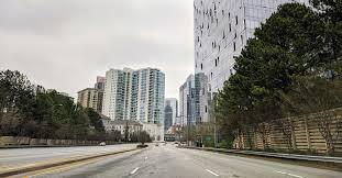 As coronavirus restrictions take <b>hold</b>, Atlanta <b>rush</b>-hour traffic looks ...