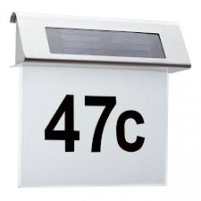 <b>Светильник</b> на солнечных батареях <b>Paulmann House</b> Number ...