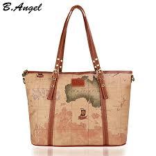 <b>Women</b> map <b>bag vintage handbag</b> luxury <b>handbags women bags</b> ...