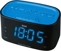 Настольные <b>часы Uniel UTR-33BBK</b> — купить в интернет ...