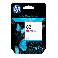 <b>HP 82</b> (CH567A) <b>Magenta</b> Original Ink Cartridge (<b>28</b> ml ...