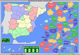 Puzzle Provincias España