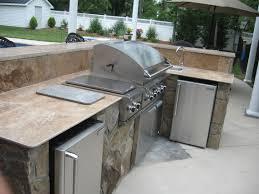 Countertop For Outdoor Kitchen Modular Outdoor Kitchen Modern Outdoor Kitchen Island Kits