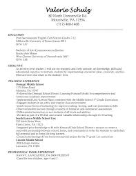 entry level art teacher resume example resume objective and fullsize by gritte entry level art teacher resume example resume objective and education