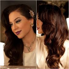 hollywood glamour: inspired hair tutorial old hollywood glamour vegas nay youtube