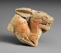 greek art in the archaic period   essay   heilbrunn timeline of    terracotta vase in the form of a ketos  sea monster