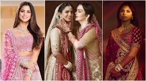 of Isha Ambani's wedding looks: Mehendi to Mumbai reception. <b>15</b> ...