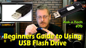 Beginners Guide to Using a <b>USB Flash Drive</b> - Ask a Tech #70 ...