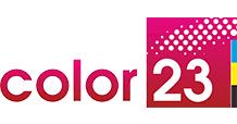 <b>Ручка шариковая Forza</b>, красная с золотистым - Color23.ru