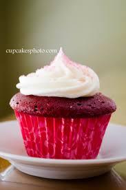 <b>Red</b> velvet cupcake with yummy frosting & <b>pink sugar sprinkles</b> ...