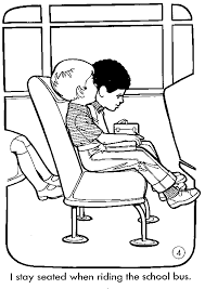 Small Picture car safety coloring pages safety american school bus council