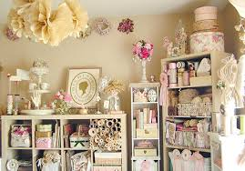 shabby chic craft room ideas junk gypsy craft room chic vintage home office