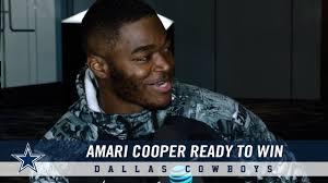 Wide Receiver Amari Cooper Is Ready To Win | Dallas Cowboys 2018