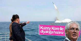 Tillerson'dan Kim Jong Un açıklaması