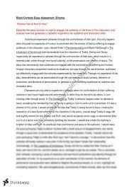 black comedy essay  year  hsc   drama  thinkswap black comedy essay