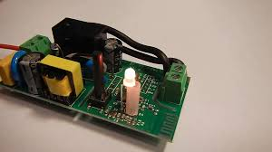 Using <b>Sonoff basic R2's</b> two color internal led in the Switch Box ...