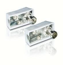 Разъемы для <b>антенного</b> кабеля <b>Philips</b> SWV2561W (папа+мама)