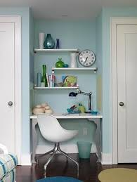 19 great home offices for small spaces and mobile homes mobile and manufactured home living beautiful home office chalkboard