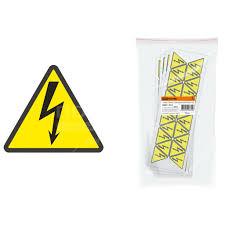 <b>Знак электробезопасности TDM</b> Electric SQ0817-0014 Молния ...