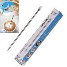 LINSBAYWU <b>1Pc Useful Stainless Steel</b> Barista Cappuccino Latte ...