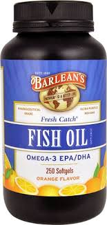 Barlean's <b>Fresh Catch</b>® <b>Fish Oil</b> Orange -- 250 Softgels - Vitacost