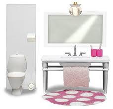 Mobili Per La Casa Delle Bambole : Lundby smaland bagno mobili per casa delle bambole