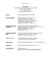 sample resume for high school graduate free download sample resume for high school graduate