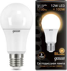 "<b>Лампочка Gauss</b> Лампа светодиодная Gauss ""<b>LED</b>"", A60, <b>globe</b> ..."