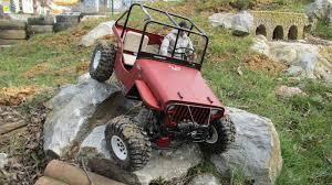 Jeep Rock Crawler Willys Jeep Rock Crawler Scale Trial 16 Youtube