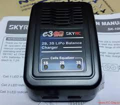 <b>Зарядное устройство SkyRC</b> E3 AC Ver.2 (<b>Li</b>-Po, 1.2A)
