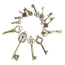 13 антикварные старинные старые блокировки скелет ключи ...