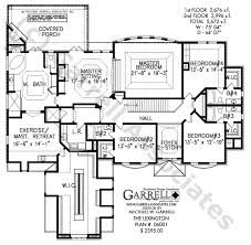 Lexington House Plan   Barrier Free House Plans    lexington house plan   nd floor