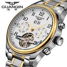 <b>men watches 2015 GUANQIN</b> mens top brand luxury Automatic ...