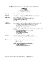 resume for teachers format d  best resume for teachers    resume templates for teachers biology teacher resume examples
